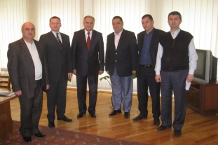 Meeting in the Syunik Regional Administration (Kapan, 29.04.2011)