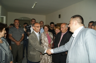 Gifts handover to the beneficiaries (Kapan, 25.05.2011)