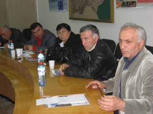 Project kick-off meeting and discussion in Ijevan (23.11.2009)