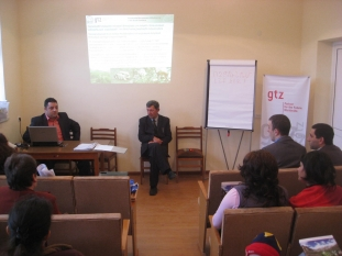 Project kick-off meeting and discussion in Srashen village (Syunik Region, 17.11.2009)