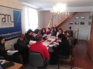 Survey questionnaire and methodology workshop (Yerevan, 07.02.2012.)