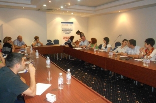 Discussion of initial results of the survey with Working Group (Yerevan, 08.07.2015.)