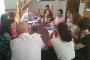 Discussion of survey questionnaires by PRIP and AM Partners teams (Yerevan, 09.06.2015.)