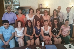 Working teams of AM Partners and PRIP (Yerevan, 09.06.2015.)