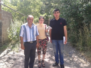 Armine, Lazr: Pilot survey in Artashavan