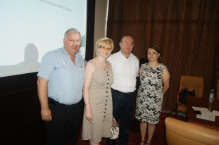 Project implementation team: Ashot Danielyan, Inna Kojoyan, Vardan Aghbalyan (Project Manager), Ruzanna Harutyunyan